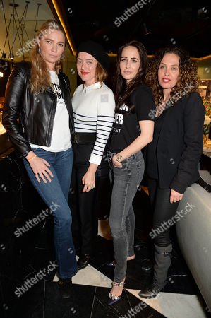 Jodie Kidd, Alice Temperley, Julie Brangstrup and Tara Smith