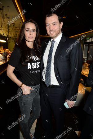 Editorial photo of Cash and Rocket Tour, 12 Hay Hill Members Club, Mayfair, London, UK - 08 Mar 2018