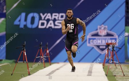 Editorial photo of NFL Combine Football, Indianapolis, USA - 05 Mar 2018