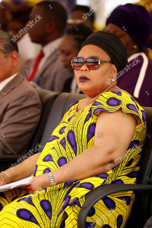 Leymah Gbowee, 2011 Nobel Peace Prize Laureate at program marking International Women's Day National theme: Act Now: 'Support The Liberian Women Agenda' in Monrovia, Liberia, 08 March 2018.  International Day of Women is celebrated in recognition of Women the world over on 08 March.