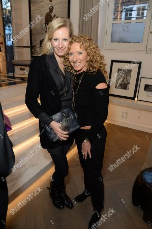 Savannah Miller and Kelly Hoppen