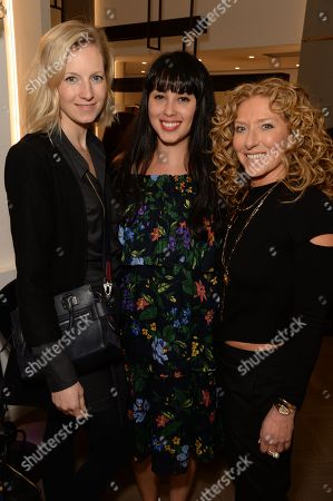 Savannah Miller, Melissa Hemsley and Kelly Hoppen