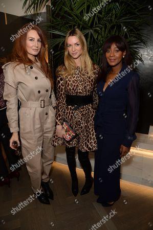Angela Radcliffe, Caroline Massenet and Phoebe Hitchcox