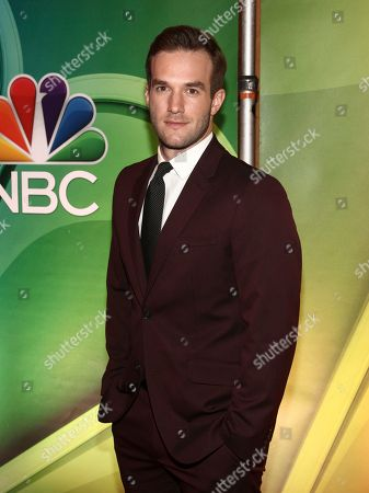 Andy Favreau attends NBC's New York 2018 mid-season press junket at the Four Seasons Hotel, in New York