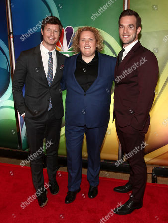 Anders Holm, Fortune Feimster, Andy Favreau. Anders Holm, from left, Fortune Feimster and Andy Favreau attend NBC's New York 2018 mid-season press junket at the Four Seasons Hotel, in New York