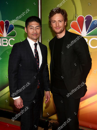 Brian Tee, Nick Gehlfuss. Brian Tee, left, and Nick Gehlfuss, right, attend NBC's New York 2018 mid-season press junket at the Four Seasons Hotel, in New York