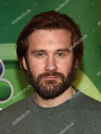 Clive Standen attends NBC's New York 2018 mid-season press junket at the Four Seasons Hotel, in New York
