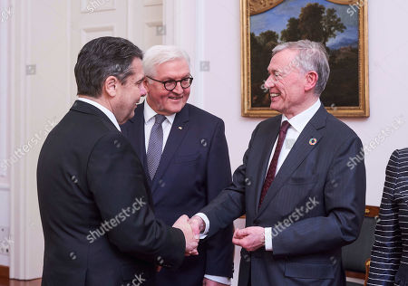 Editorial image of Dinner in honor of former president of Germany Kohler at Bellevue Palace, Berlin, Germany - 08 Mar 2018