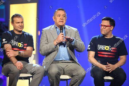 Alan Tacher, Pablo Ramirez Gomez and Raul Gonzalez