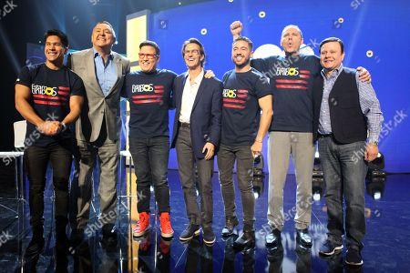 CHyno Miranda, Pablo Ramirez Gomez, Raul Gonzalez, Fernando Landeros, Borja Voces and Alan Tacher