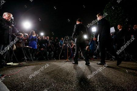 Editorial picture of US Korea, Washington, USA - 08 Mar 2018