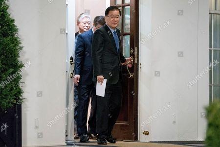Editorial photo of Trump US Korea, Washington, USA - 08 Mar 2018