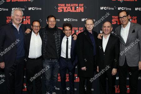 Jonathon Sehring, Laurent Zeitoun, Jason Isaacs, Yann Zenou, Steve Buscemi, Armando Iannucci, Josh Sapan