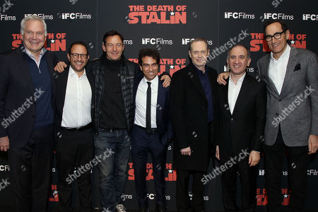 Stock Picture of Jonathon Sehring, Laurent Zeitoun, Jason Isaacs, Yann Zenou, Steve Buscemi, Armando Iannucci, Josh Sapan