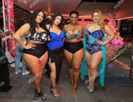 Editorial photo of JCPenney Launches Boutique+ Swim with Jessica Milagros, New, USA - 08 Mar 2018
