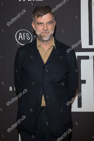 American filmmaker and director Paul Thomas Anderson
