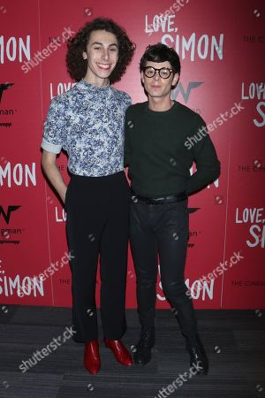 Editorial picture of 'Love, Simon' film premiere, New York, USA - 08 Mar 2018