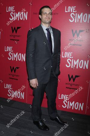 Editorial photo of 'Love, Simon' film premiere, New York, USA - 08 Mar 2018