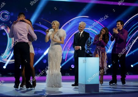 Jake Quickenden, Vanessa Bauer, Phillip Schofield, Holly Willoughby, Brooke Vincent and Matej Silecky