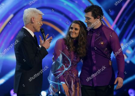 Phillip Schofield, Brooke Vincent and Matej Silecky