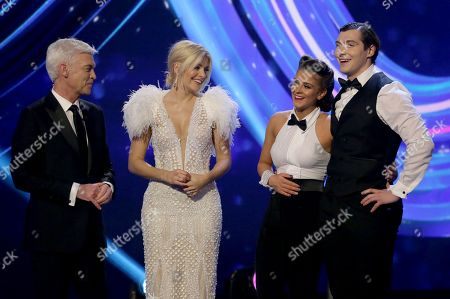 Phillip Schofield, Holly Willoughby, Brooke Vincent and Matej Silecky