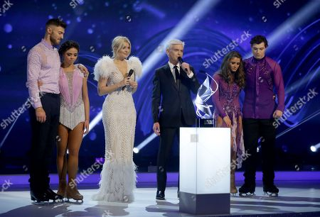 Stock Picture of Jake Quickenden, Vanessa Bauer, Holly Willoughby, Phillip Schofield, Brooke Vincent and Matej Silecky