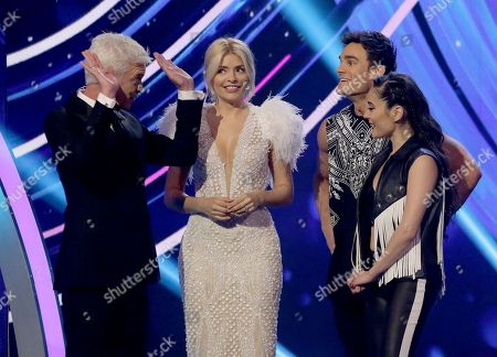 Phillip Schofield, Holly Willoughby, Max Evans and Ale Izquierdo