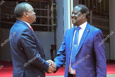 Uhuru Kenyatta and Raila Odinga