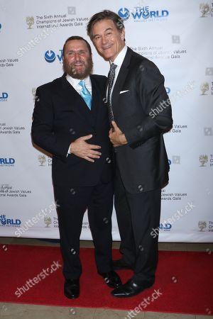Rabbi Shmuley Boteach, founder and Executive Director of the World Values Network and Dr Mehmet Oz