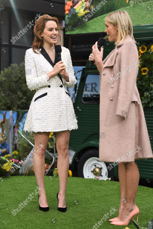 Daisy Ridley and Jenni Falconer