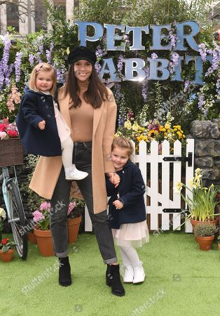 Imogen Thomas and children