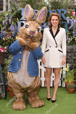 Editorial picture of 'Peter Rabbit' film premiere, London, UK - 11 Mar 2018