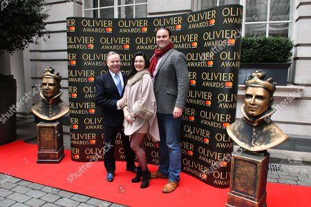 (L-R) Nic Greenshields, Dianne Pilkington, Patrick Clancy
