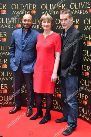 Editorial photo of The Olivier Awards nominees luncheon, Arrivals, London, UK - 09 Mar 2018