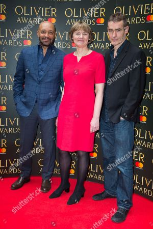 Editorial image of Olivier Awards nominees drinks at The Rosewood Hotel, London, UK - 09 March 2018