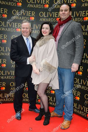 Patrick Clancy, Dianne Pilkington and Nic Greenshields