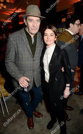 Ciaran Hinds and Shirley Henderson