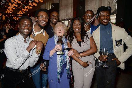 Editorial photo of The Olivier Awards nominees luncheon, Inside, London, UK - 09 Mar 2018
