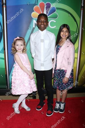 Stock Photo of Ariana Jalia, Miles Caton and Shivani Sahu