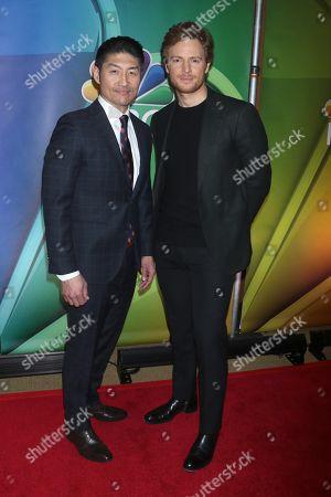 Brian Tee and Nick Gehlfuss