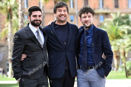Fabio De Luigi and the directors