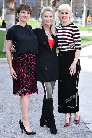 Lucia Ocone, Barbara Bouchet, Marina Rocco