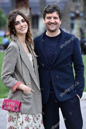 Miriam Leone and Fabio De Luigi