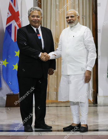 Narendra Modi and Enele Sopoaga