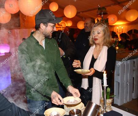 Markus Knuefken and Jutta Speidel