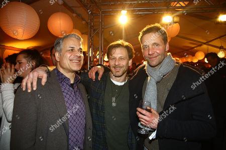 Karsten Speck, Hendrik Duryn and Patrick Fichte