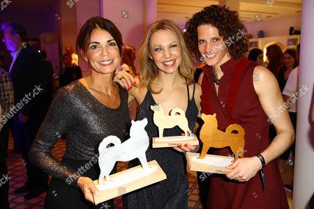Stock Photo of Gerit Kling, Birte Glang and Lena Schoeneborn