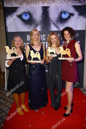 Jutta Speidel, Inge Steiner, Birte Glang and Lena Schoeneborn