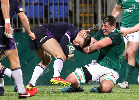 Editorial photo of Under-20 Six Nations Championship Round 4, Donnybrook, Dublin  - 09 Mar 2018