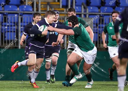 Editorial image of Under-20 Six Nations Championship Round 4, Donnybrook, Dublin  - 09 Mar 2018